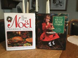 Coup de pouce Le livre de recettes de NOEL.  je  Poste
