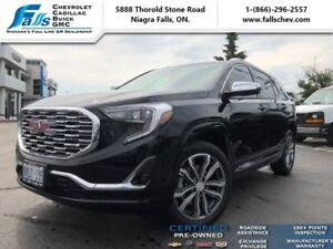 "2018 GMC Terrain Denali  NAV,AWD,LEATHER,POWER LIFT,19""ALLOYS"