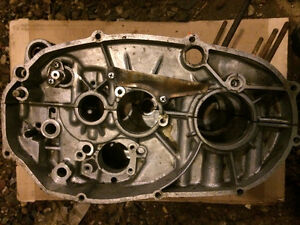 Yamaha RD350 liquid cooled engine cases crankcase
