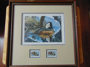 Wildlife Habitat Canada / Prints with Stamps / s-n London Ontario image 8