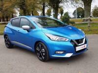 2017 67 Nissan Micra 1.0 IG-T 90 N-Connecta with Navigation