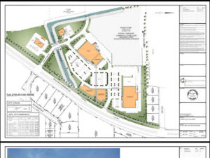 Commercial ans semi industrial piece of land for sale
