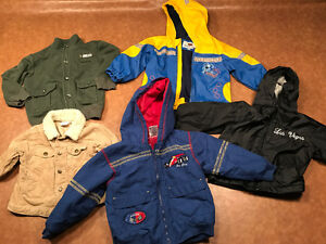 Various Toddler Boy Jackets Different seasons of jackets!