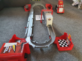 Disney pixar cars super mack track playset.