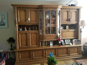 IMPORTED GERMAN WALL UNIT SCHRANK