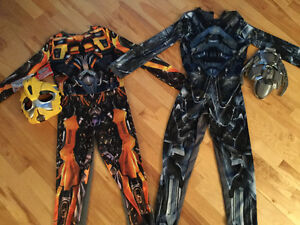 Costume Transformers 7-8 ans