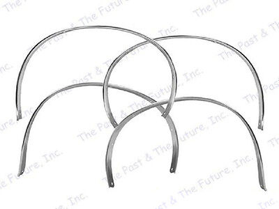 Front & Rear Wheel Well Opening Molding - Coupe - RH&LH - 4 PCS Set (Front Wheel Well Opening Molding)