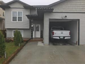Modern large duplex with garage