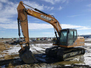 2014 CASE CX160B EXCAVATOR- UP FOR AUCTION!