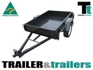 6x4 Box Trailer - 750kg GVM - Front & Rear Tailgates-New Wheels Thomastown Whittlesea Area Preview