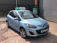 2012 MAZDA 2 MAZDA2 1.3 TAMURA 5 DOOR BLUE NEW SHAPE FSH 12 MONTHS MOT BARGAIN