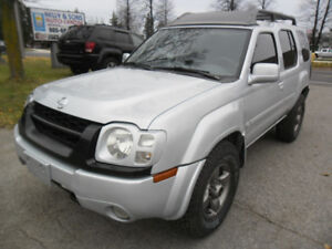 "2002 Nissan XTERRA XE""WOW""clean NO ACCIDENTS certified+FREE 6m w"