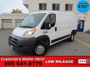 2015 Ram ProMaster 136 WB Low Roof Cargo  LOW ROOF POWER GROUP