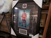 Maurice Richard Montreal Canadiens Autographed Framed Photo COA
