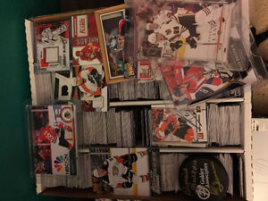 Hockey cards!  Game used, autographs and more