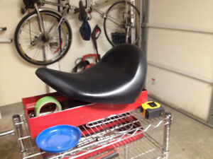 """""""Victory"""" Solo Motor cycle seat. Call Bill"""