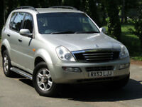PX BARGAIN - Ssangyong Rexton 2.9TD RX 290 SE 5**NEW MOT**WELL LOOKED AFTER**4X4