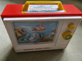 Fisher Price Giant Screen Music Box TV