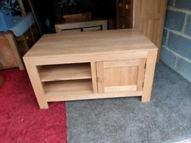 Oak Furniture Land Oakdale Solid Oak TV Unit
