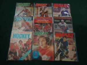 15 NHL Hockey Magazines All from the 1970's