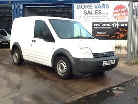 2008 ford transit connect t220 swb van 1.8 tdci 80,000 warranted miles px welcome