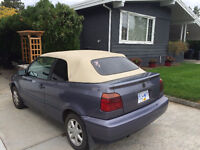 Volkswagen cabrio '95 convertible runs good $1500 OBO
