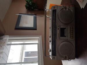 Rare vintage Sharp 1982 boom box