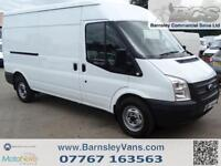 2013 13 FORD TRANSIT LWB MED ROOF 100BHP TWIN SLD ONE COMPANY OWNER