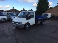 Ford transit tipper low miles full m.o.t 91k
