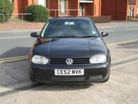 52 VW GOLF GTI 1.8 T + 1800CC TURBO + FSH + 5 DOOR + 150 BHP