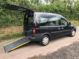 2010 Vauxhall Combo Tour 1.4i 5dr WHEELCHAIR ACCESSIBLE VEHICLE 5 door Wheelc...