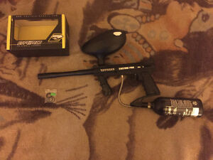 Tippmann custom pro with tank and hopper