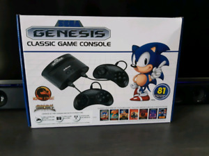 Sega Genesis + 81 built in games