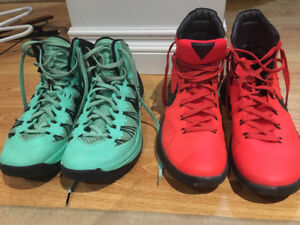 Men's size 8 and 8.5 Nike basketball shoes