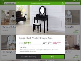 Brand new in box Dressing Table