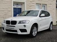 2012 BMW X3 2.0 20d M Sport xDrive 5dr
