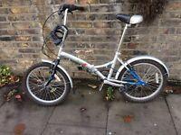 Fold up bike £120
