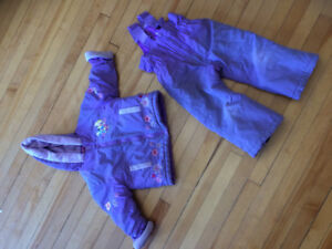 Pretty, Purple, Princess Snow Suit