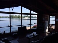 Last minute Waterfont chalet for rent