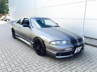 1995 N REG Nissan SKYLINE 2.5 GTST Turbo manual Matt Grey + Styling Kit