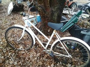 Old bikes and trikes