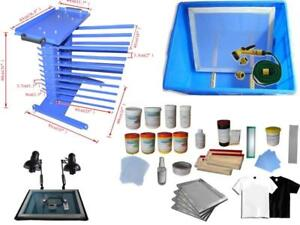 Screen Printing Storage Shelf /Stainless Steel Work Table with Consumable Hand Tools 006803 Item number 006803