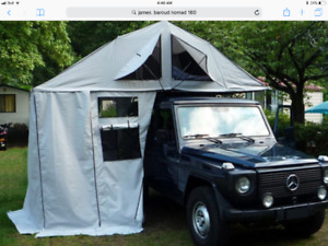James  Baroud Nomad roof top tent