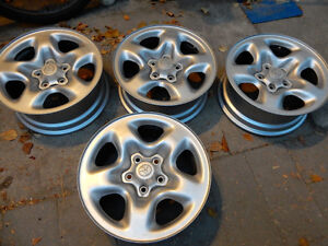 16 Inch TOYOTA STOCK Steel Rims WITH 5 x 114.3mm PATTERN