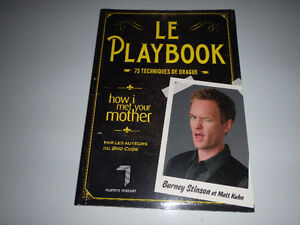 Le playbook de Barney Stinson. How I met your mother