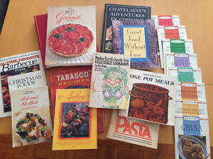 Huge variety of cookbooks