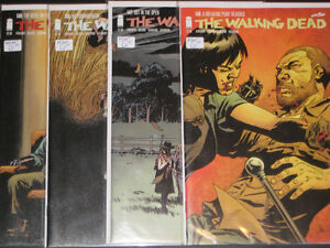 The Walking Dead #146, 147, 148, 149 Comic Books Zombies