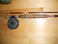 Canne moulinet mouche, Shakespeare, Fly fishing rod and reel