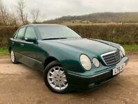 2001 Mercedes-Benz E Class E240 Elegance 4dr Tip Auto [2.6] SALOON Petrol Automa