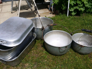 Pots and Roaster
